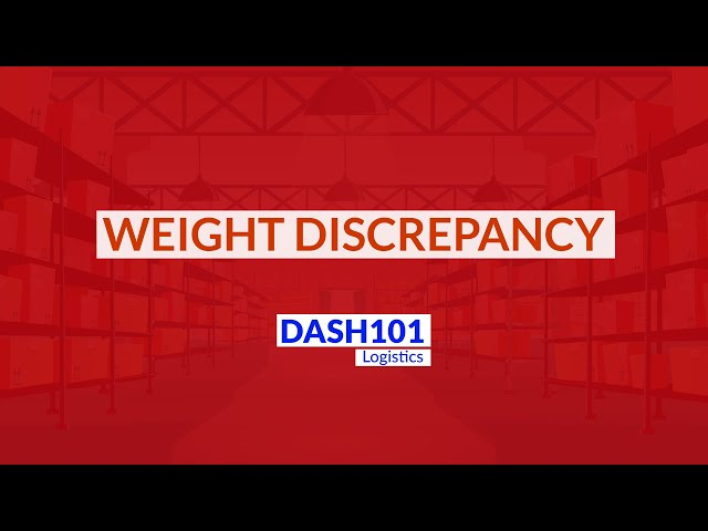 A detailed guide about weight discrepancy