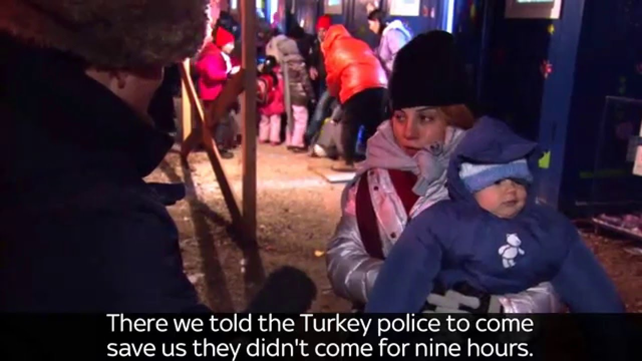 Migrant Reveals Journey From Turkey To Greece