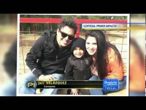 Jaci velasquez reveló que su Hijo mayor padece autismo