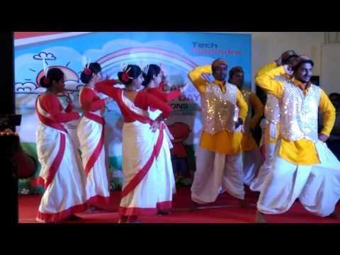 BIHU DANCE TECH MAHINDRA-2015