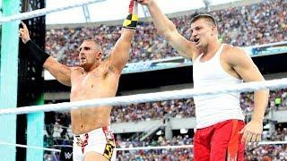 Go behind the scenes of Rob Gronkowski's WrestleMania appearance (WWE Network Bonus)