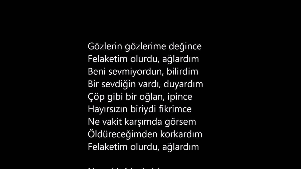 Atilla Ilhan üçüncü şahsın şiiri Seslendirme Kadir Yilmaz