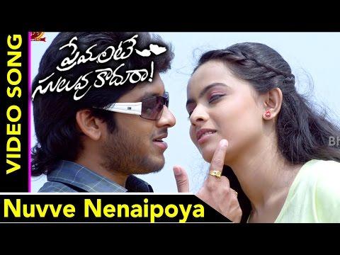 Premante Suluvu Kadura Movie Songs    Nuvve Nenaipoya Full Video Song    Rajiv Saluri, Simmi Das