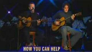 "Eric Clapton and John Mayer ""Broken Hearted"" acoustic"