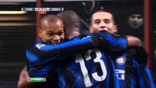 Gol di Chivu - Inter vs. Cesena (32)