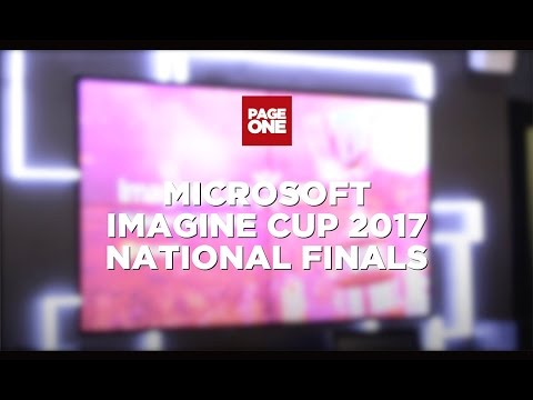Imagine Cup 2017 National Finals