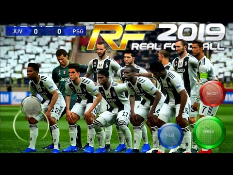 Download Real Football 2019 Offline New Kits & Transfer | Instal RF 2012 Mobile Best Graphics HD