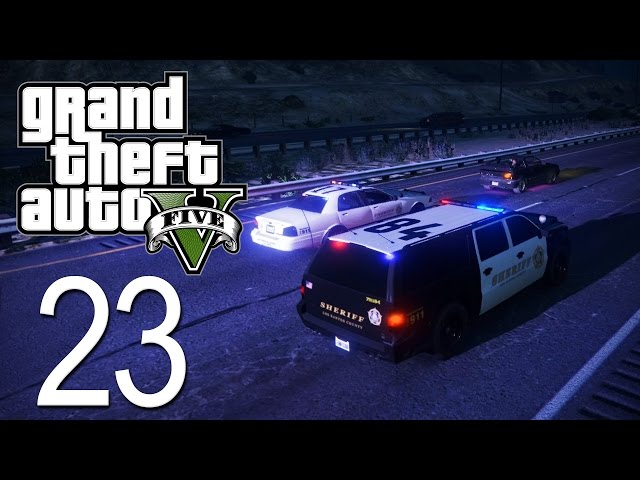 GTA 5 - LSPDFR - Episode 23 - Longest Pursuit Ever!