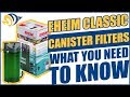 Eheim Classic Canister Filters: What YOU Need to Know