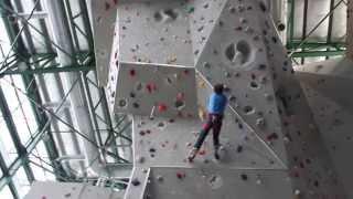 chris sharma climbing 8a wall at camp 5