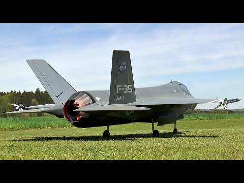 Giant Rc F 35 Lightning II