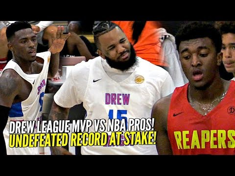 06484e5f4546 Kyree Walker SAUCES UP The Game w  The Kyrie Irving SAUCE!! NBA Pros Vs  Drew League MVP!!