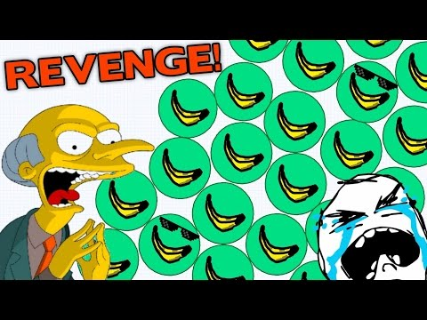 AGAR.IO - BANANA APOCALYPSE // Revenge On Agario Server