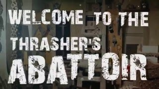 CARCASS - Thrasher's Abattoir (LYRIC VIDEO - Unofficial, fanmade)