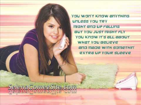 Selena Gomez ft. David Henrie- Make It Happen WOWP (Picture slide + lyrics)