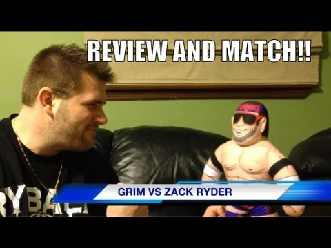 WWE ACTION INSIDER: Zack Ryder Brawlin Buddies Mattel Wrestling Figures Review