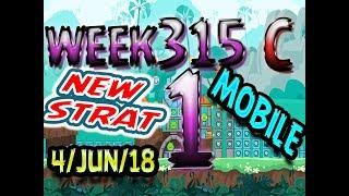 Angry Birds Friends Tournament Level 1 Week 315-C NEW STRAT Highscore POWER-UP walkthrough