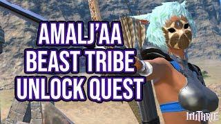 FFXIV 2.1 0135 Unlock Amalj'aa Dailies (Beast Tribe Quests)
