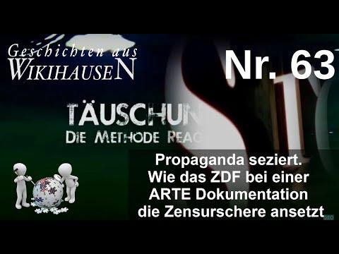 Propaganda seziert. Wie das ZDF bei einer ARTE Doku die Zensurschere ansetzt   #63 Wikihausen
