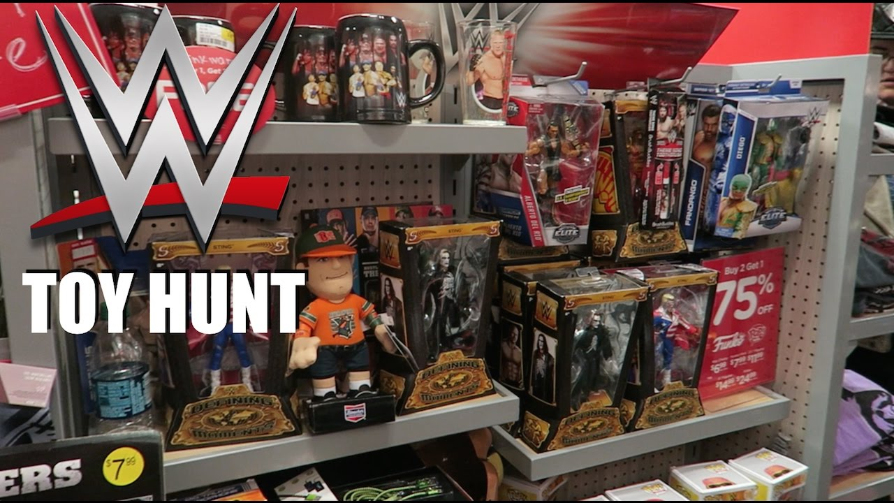 WWE Figure/DVD Hunt at FYE 1/05/17