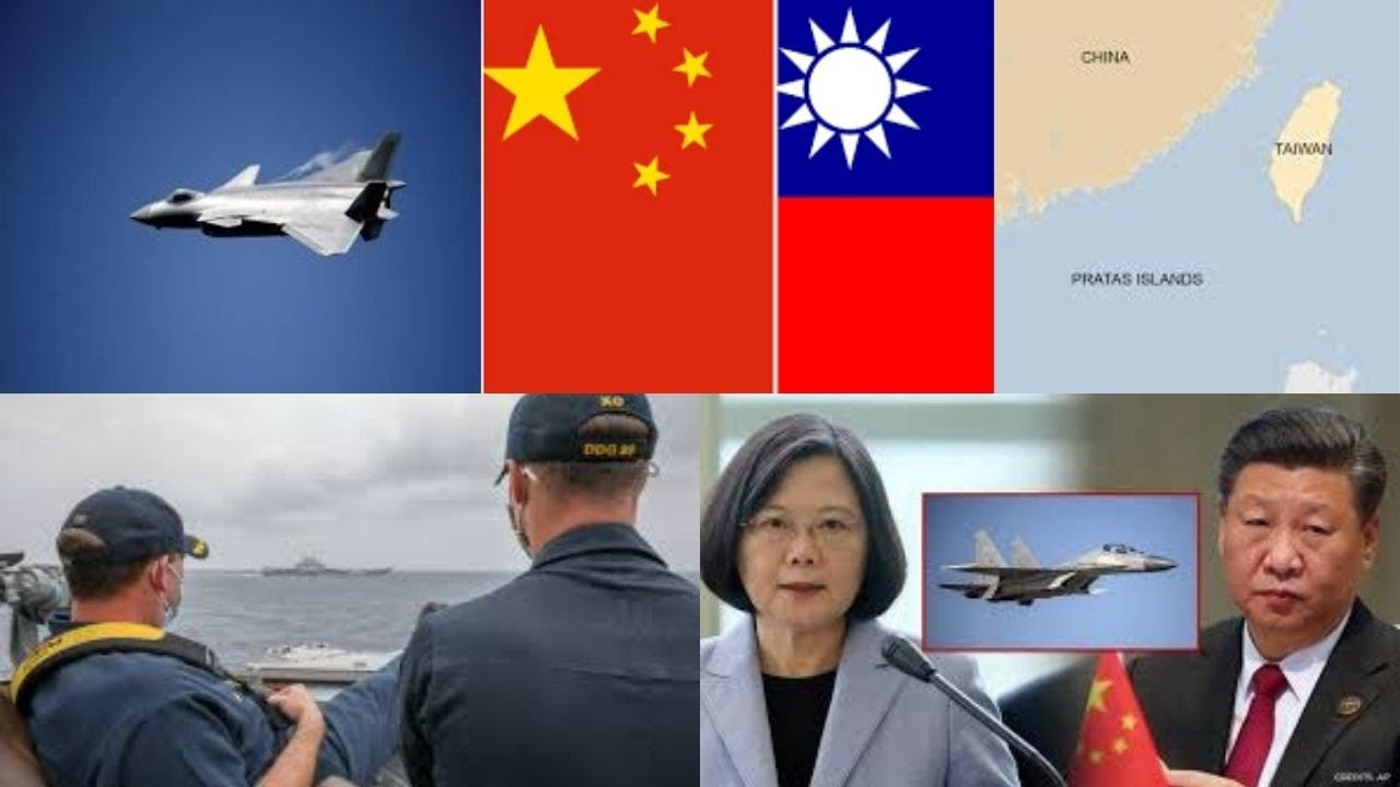 7 Chinese planes enter Taiwan air zone, 6th intrusion this month