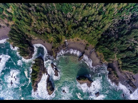 Amazing SECRET Beach | Southern Oregon Coast | Aerial Video