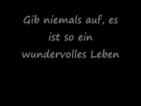 Hurts - Wonderful Life (German Lyrics) (Deutsche ...