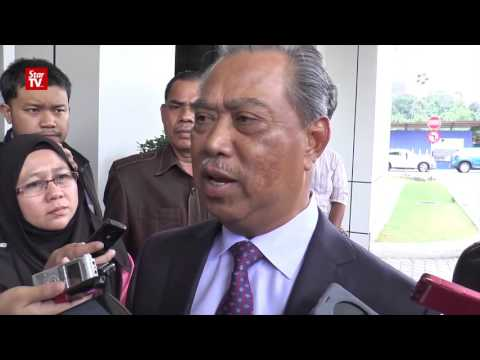 Muhyiddin: Why can't we talk about DOJ in Parliament?