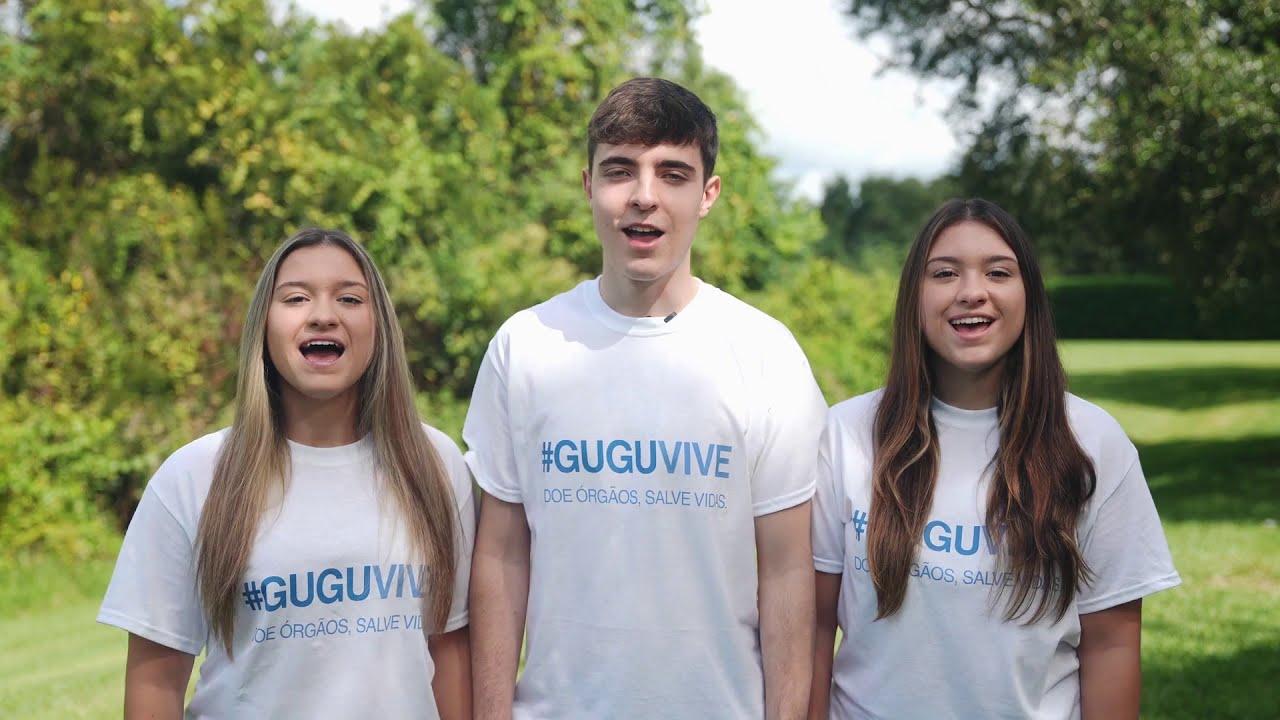Campanha Gugu Vive - Doe órgãos, salve vidas