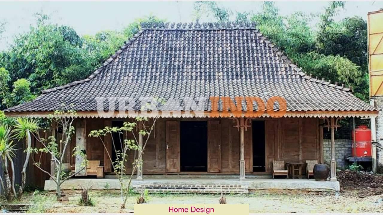 Desain Rumah Limasan Jawa
