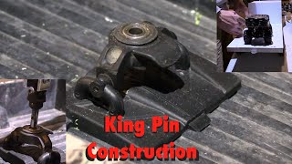 RC CWR 5th Wheel King Pin construction from spare parts