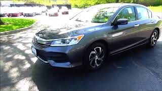 Certified Used 2016 Honda Accord LX for sale at Honda Cars of Bellevue...an Omaha Honda Dealer!