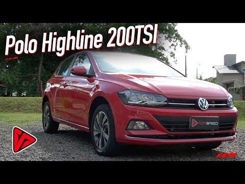 Avaliação Volkswagen Polo Highline 200TSI  | Top Speed