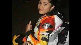 Video Raya Kitty Anak Jalanan Jajal motor DRAG 200cc, GILA keren Abisss!!!