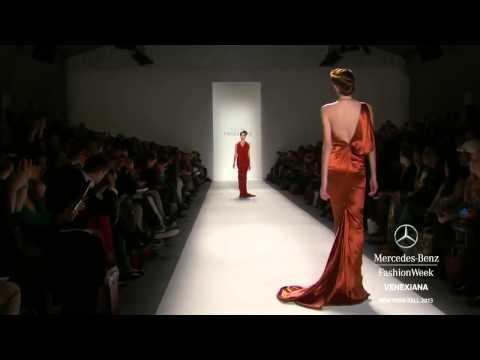 Salome Jugeli (Georgian Model): VENEXIANA NY FASHION WEEK FALL 2013