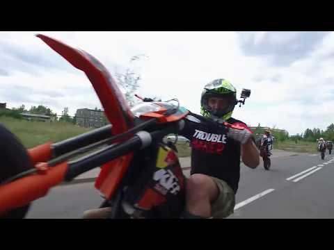 TERROR ON THE STREETS - Supreme meetup 2017 POLISH supermoto stunt