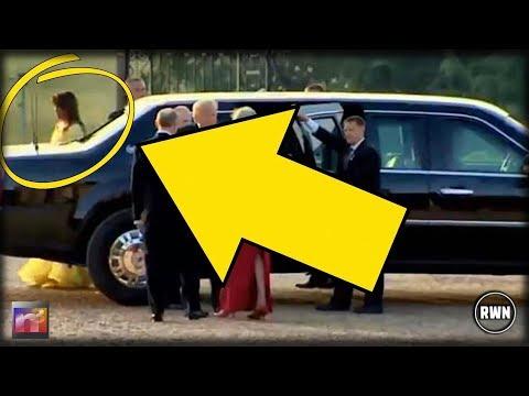 Melania Trump Praised For Gorgeous Look At Black-Tie Dinner: 'She Looks Like A Princess'