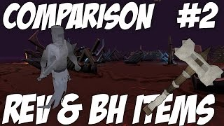 Comparisons | Episode 2 [T88 WEAPONS FROM REVS+BH] Runescape 3 Reviews
