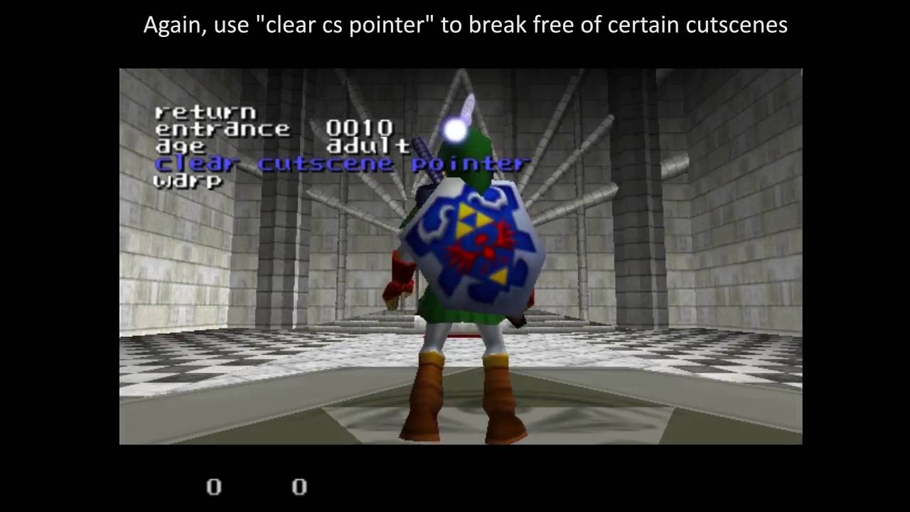 Ocarina of Time Practice ROM/Codes by Glank