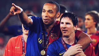 The Huge Sacrifice Thierry Henry Made For Lionel Messi | Oh My Goal
