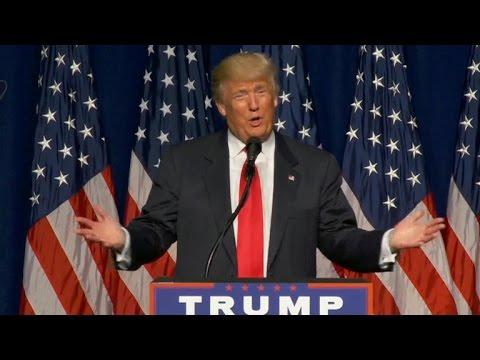 Trump claims Clinton