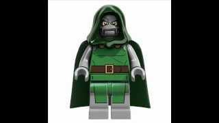 Marvel & DC LEGO Superheroes Minifigs 2013