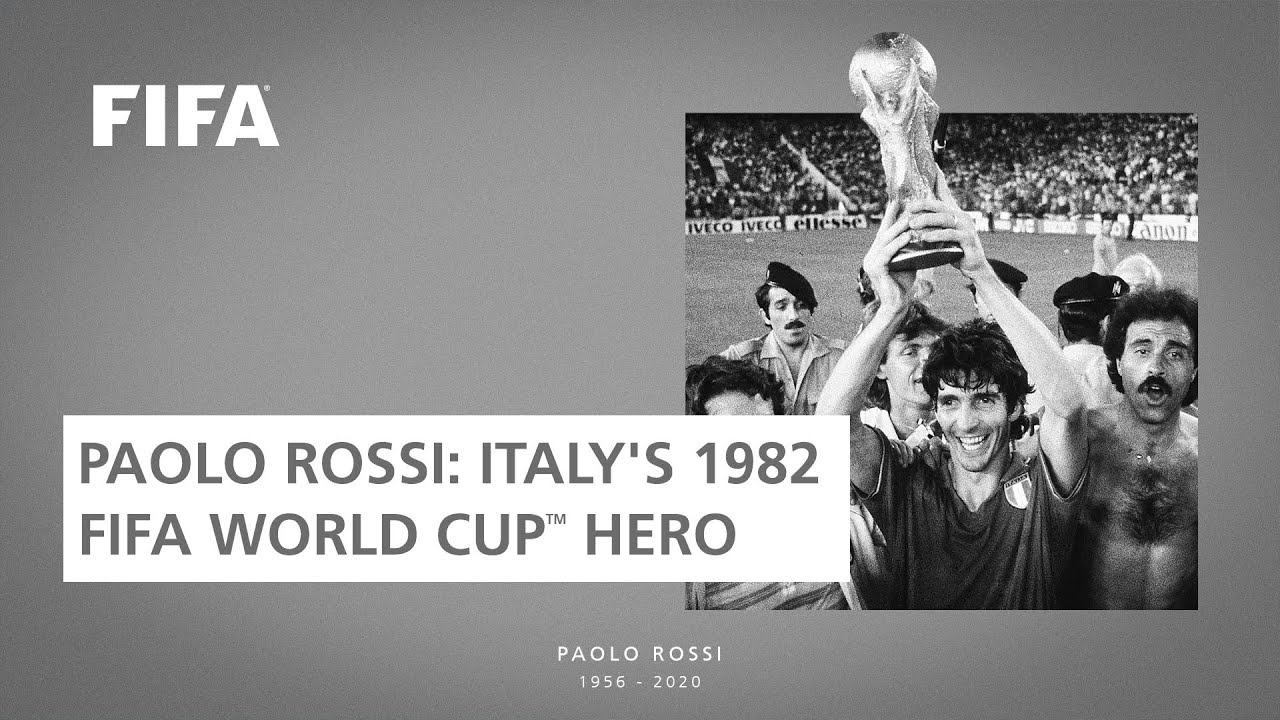 Remembering Paolo Rossi The Bolt In Blue Vs Brazil The Star Of 82