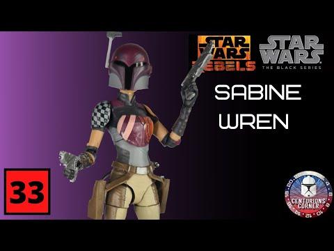 Star Wars Black Series Sabine Wren Review