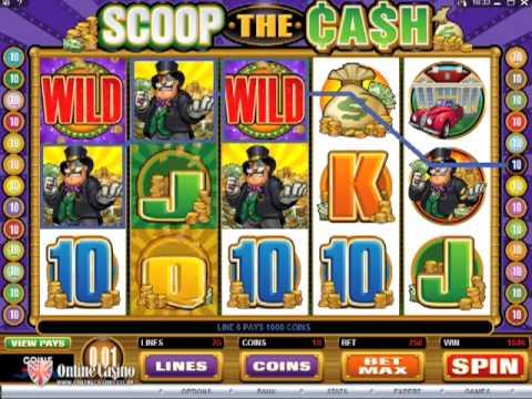 Scoop the Cash - Online Slot Machine
