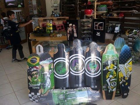 Jet Skateboards Violator e Transporter 3D