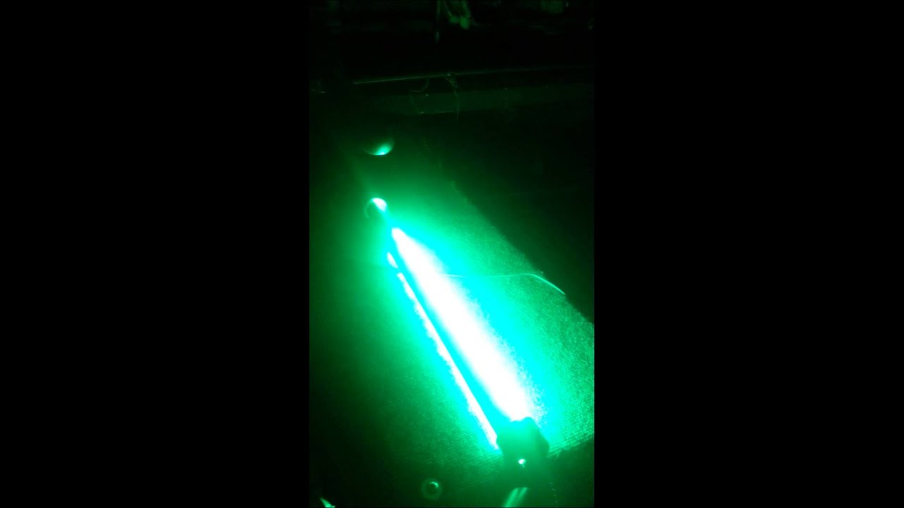 homemade green light for night fishing - youtube, Reel Combo