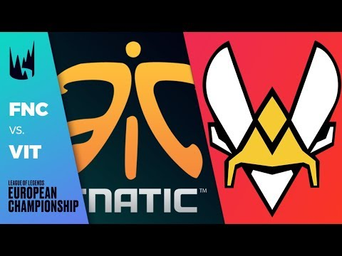 FNC vs VIT, Game 1 - LEC 2019 Spring Split Round 1 - Fnatic vs Vitality G1