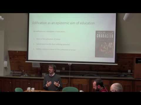Ian James Kidd: Education, Edification, and Epistemic Corrup