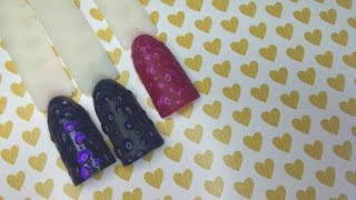 Легкий дизайн ногтей гель-лаком, капли дождя на ногтях,  маникюр в домашних условиях